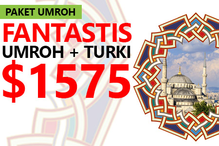 ARFA TOURS UMROH PLUS TURKI HANYA USD 1575