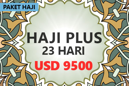 Paket haji plus berangkat tahun ini bersama Arfa Tours USD 9500