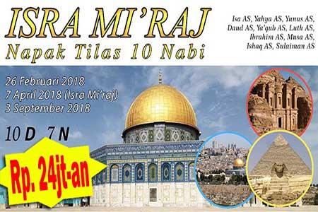 paket tour isra miraj - arfa tours