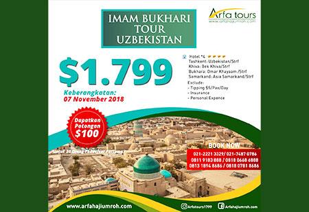 wisata uzbekistan - arfa tour