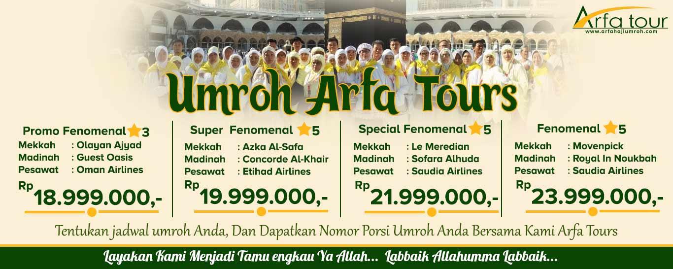 Umroh Fenomenal Arfa Travel