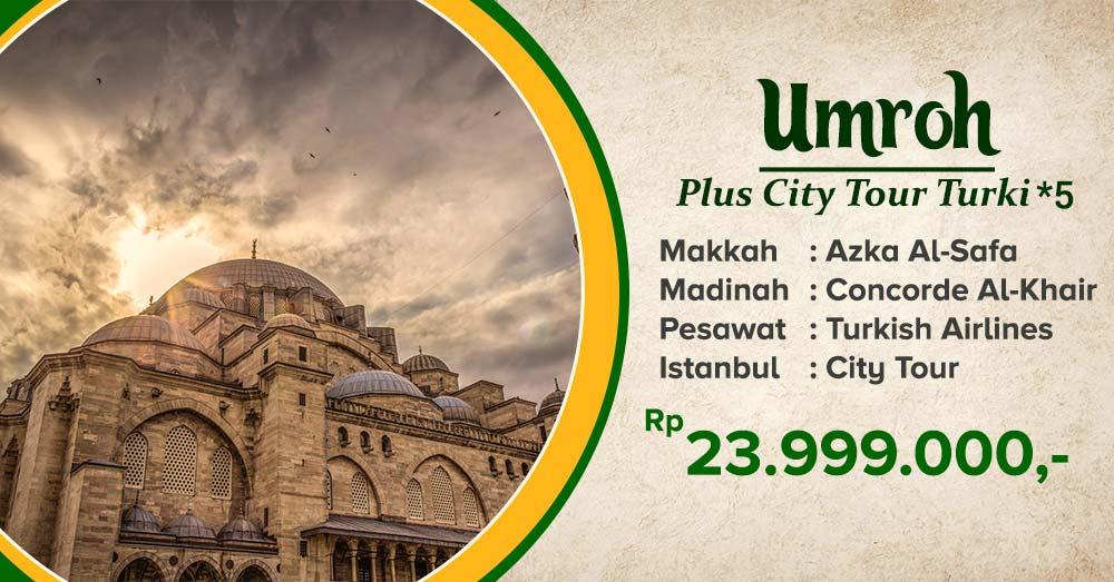 umroh plus city tour turki oktober 2020 arfa tour