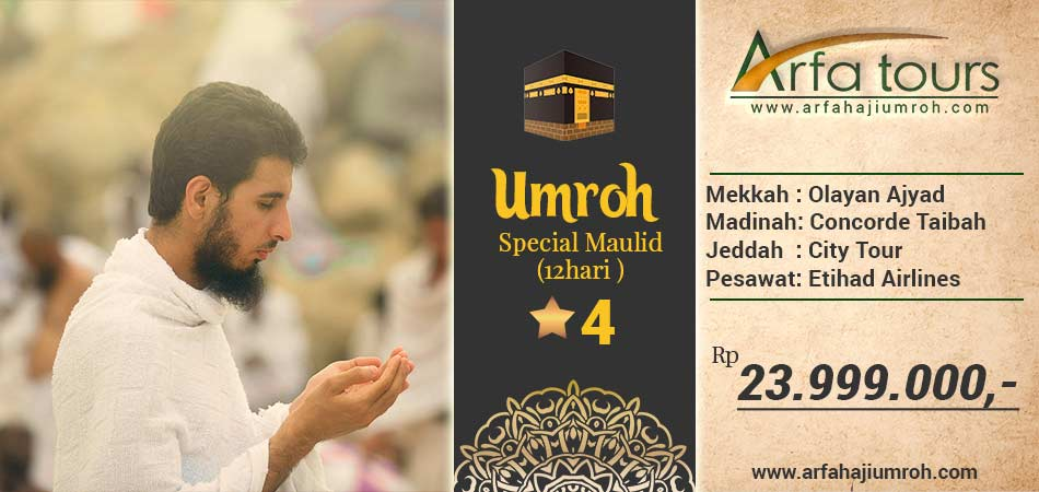 Umroh special maulid