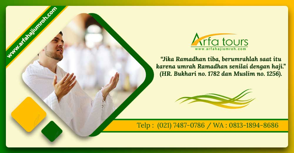 umroh ramadhan 2019 arfa tour