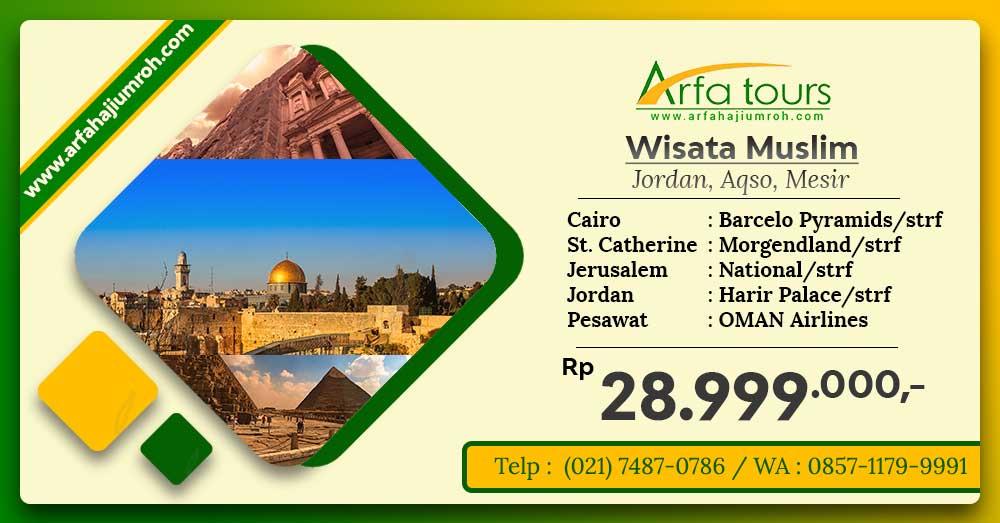 wisata muslim 2020 jakarta di arfa tour