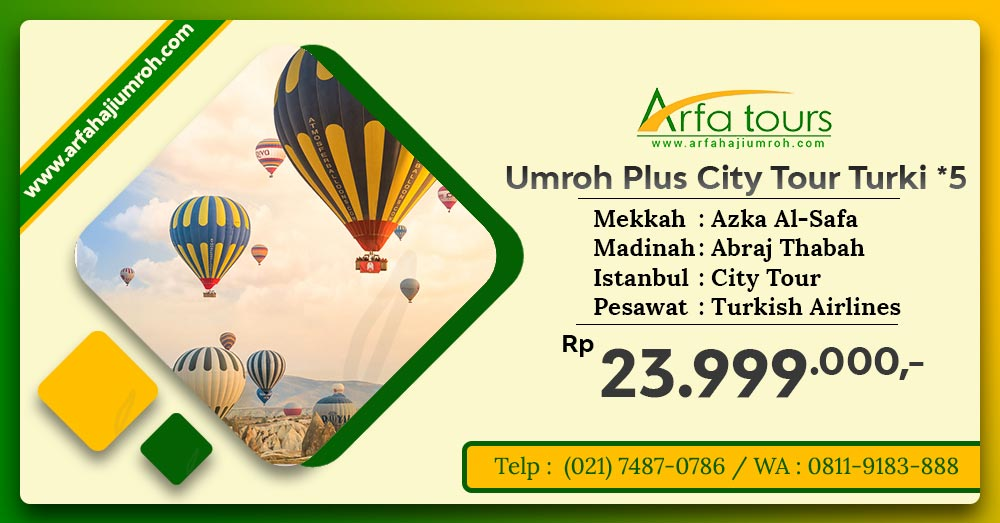 umroh plus city tour turki
