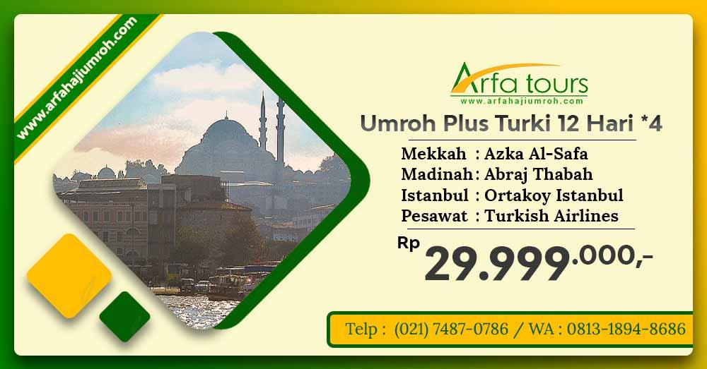 Umroh plus turki bintang 4