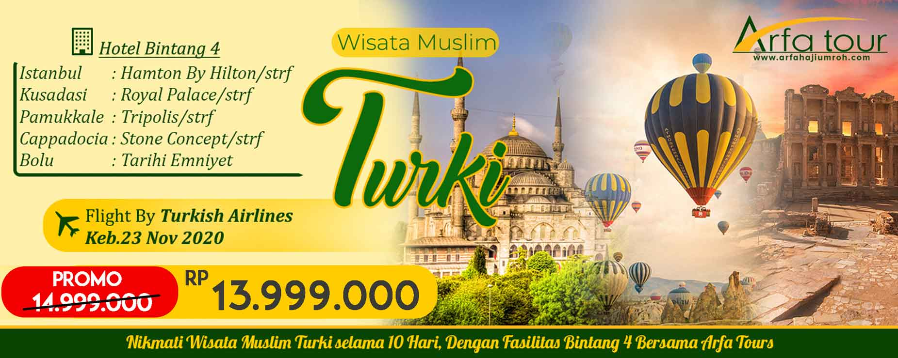wisata turki halal promo