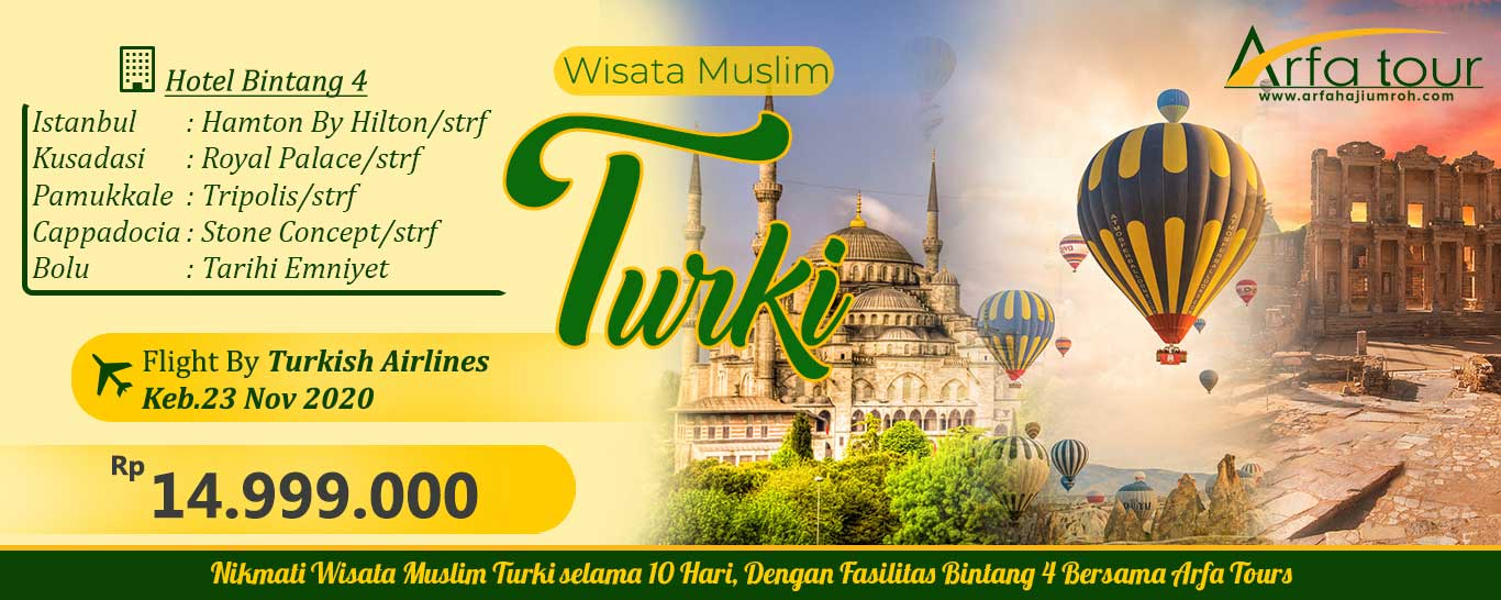 wisata turki halal